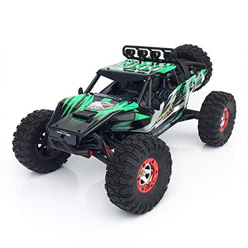 Ferngesteuertes Auto RC Auto High Speed Geländewagen Maßstab 1/12 4WD Antrieb & 45 km/h Geschwindigkeit RC Car fürs Outdoor Gelände Kinder und Erwachsene,Green
