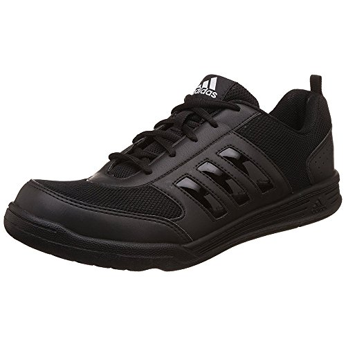 Adidas Black Mesh School Shoes For Men
