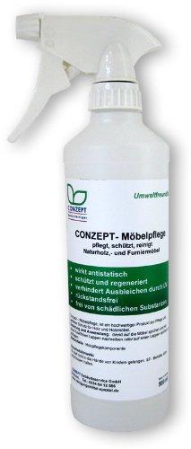 Conzept Möbelpflege 0,5l (eingesetzt in der professionellen Gebäudereinigung) für Allergiker geeignet