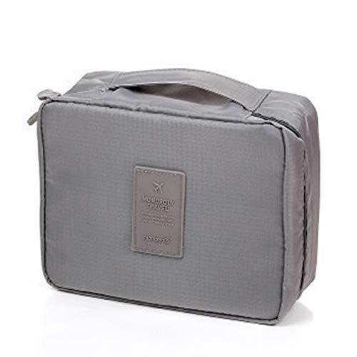 DaoRier Multifuncional Square Bolsa de Cosméticos Portátil para Viajes Impermeable Paquete de Almacenamiento Organizador de Neceser para Mujer Size 21...