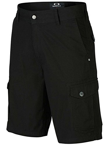 Oakley Herren Shorts Foundation Cargo, Jet Black, 28