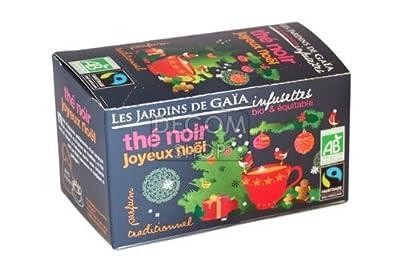 Infusettes de Thé noir Joyeux Noël - boîte 32g
