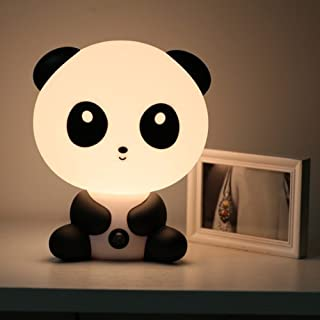 akldigital cute table lamp simple modern desk bedside lamp creative bedroom light cartoon kung fu panda shape for chirlden o girl friend as festival Christmas gift