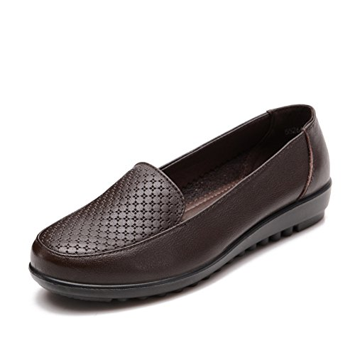 Grande taille chaussures de maman/Plat moyen et vieux ans chaussures femme/Chaussures de travail/Femmes chaussures/ la lumière old shoe A
