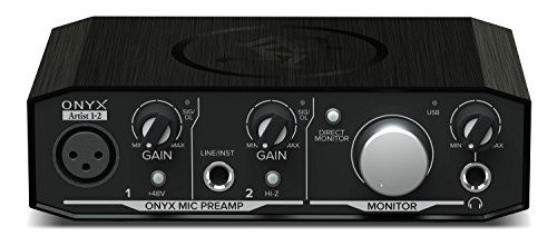 Mackie Onyx Artist 1x2 - 2 In x 2 Out Audio Interface