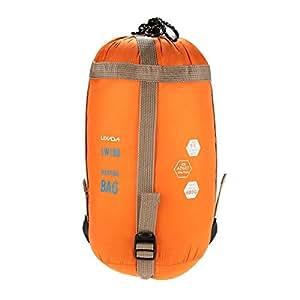 Lixada 700g Sac de couchage couverture etanche pour camping randonné ultra-léger, compact et portable en forme d'envelope
