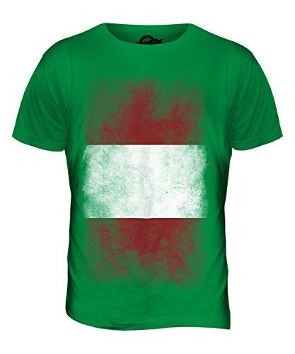 CandyMix Peru Verblichen Flagge Herren T Shirt Grün
