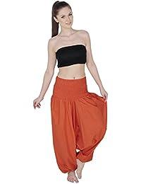 para Aakriti Pantalón con Yoga pantalón Mujer Estilo Indio Gallery Harem Estilo de wFqgSx