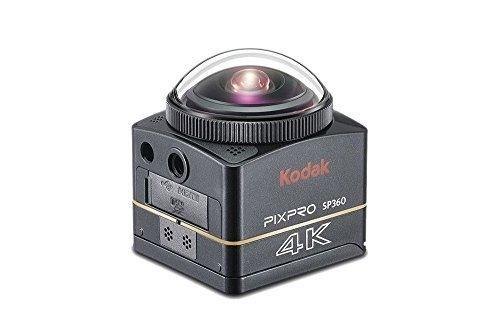 Kodak SP360 4K Aqua Pixpro Action Kamera Aqua Sport Pack schwarz