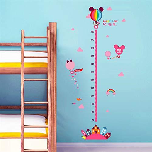 Cartoon film minnie maus wachstum chart wandtattoos wohnzimmer wohnkultur pvc höhe maßnahme wandaufkleber kinder geschenk diy wandbild