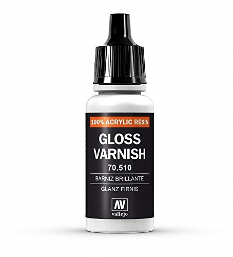 WWG Vallejo Paint Model Color Gloss Varnish 70.510 - Wargame Miniature Figure