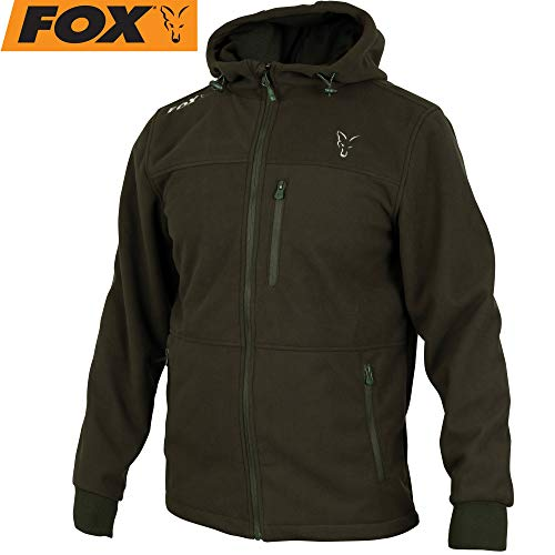 Fox Collection Green/Silver Windblocker - Angeljacke, Größe:M