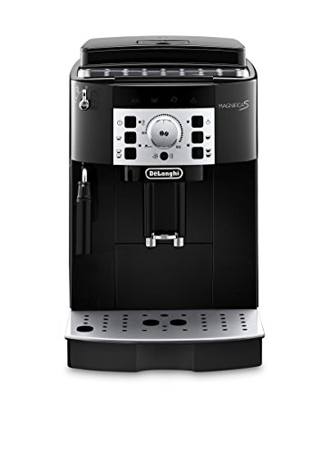 De'Longhi Magnifica S ECAM 22.110.B Kaffeevollautomat (Direktwahltasten und Drehregler, Milchaufschäumdüse, Kegelmahlwerk 13 Stufen, Herausnehmbare Brühgruppe, 2-Tassen-Funktion) schwarz - 9