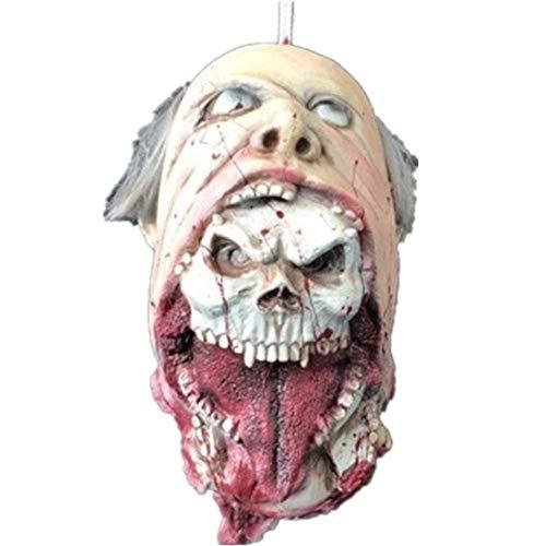 LLY Halloween, Spukhaus, Horrordekoration, Layout, Simulation, Kopf, Geist, Zombie, Leiche, Horror, Gruselfilm Requisiten