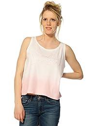 Kaporal Camiseta sin Manga para Mujer RAMSE - Rosa, M