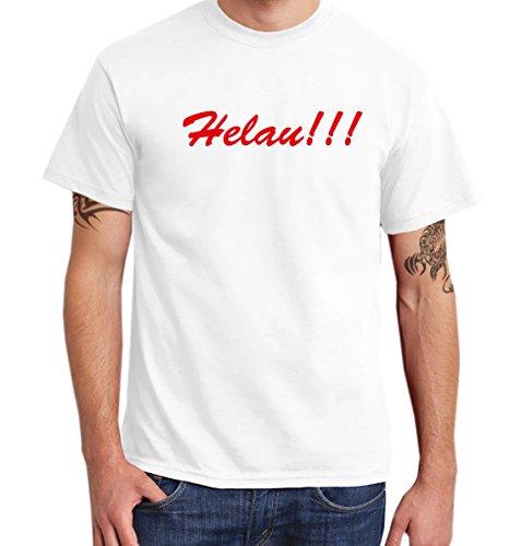 -- Helau!!! -- Boys T-Shirt Weiß