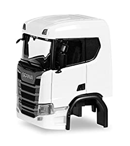 Herpa 084659Conductor Scania CR ND sin Wind conductora Chapa y Chassis Verkleidung (Contenido 2Stk.)