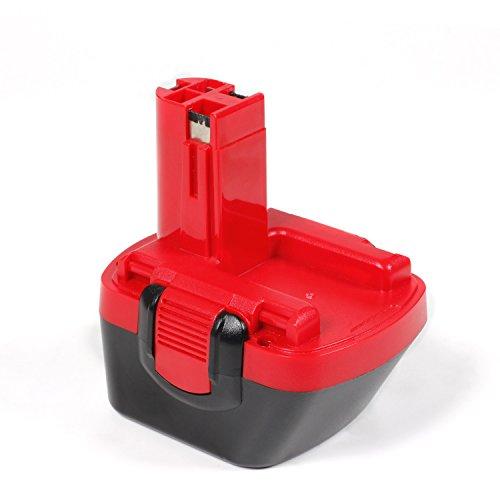 LENOGE 12V 3.0Ah NI-MH Visseuse Remplacement Batterie pour BOSCH BAT043 22612 3360 3455 32612 3360K 3455-01 BAT043 BAT045 BAT046 BAT049 BAT139 2607335274 2607335709 2609200306 Exact 700 PSB 12VE-2 GBH