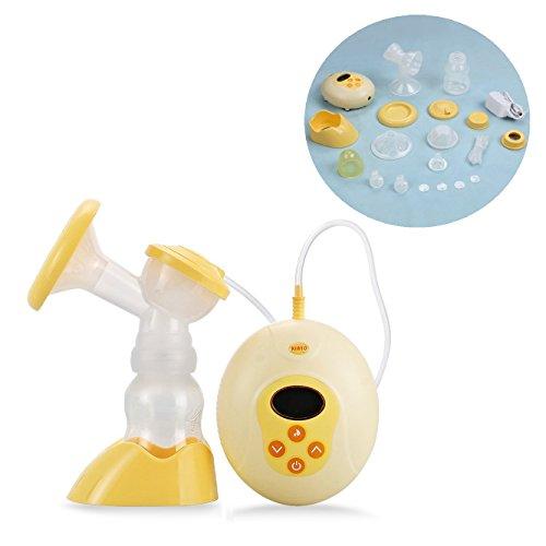 Itian Elektrische Milchpumpe , LCD-Display, Elektrische Milchpumpe , FDA Dual-Core, BPA Frei (Einzelmilchpumpe)