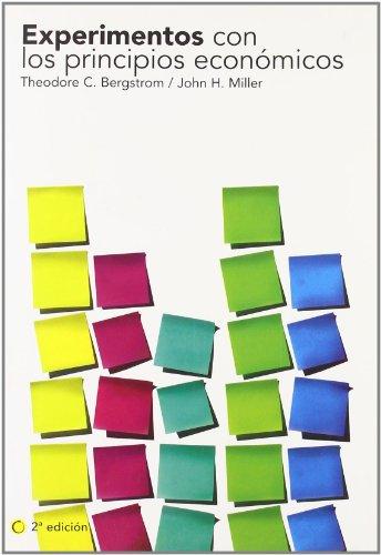 Experimentos con los principios económicos, 2ª ed. (Economía) por Theodore C. Bergstrom