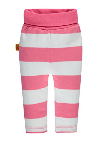 Steiff Baby-Mädchen Hose Jogginghose, Rosa (Hot Pink 2610), 86