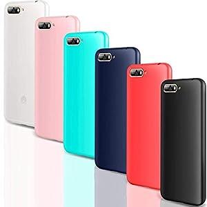 CreWin Kompatibel mit Huawei P30 Pro Hülle Weiche Silikon Handyhülle Gel TPU Bumper Schutzhülle ückschale Klar Handytasche Rückseite Soft Case Cover Schwarz+Blau+Rot+Grün+Rosa+Transluzent