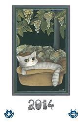 Calendario gatti 2014, illustrato, con racconto (Italian Edition)