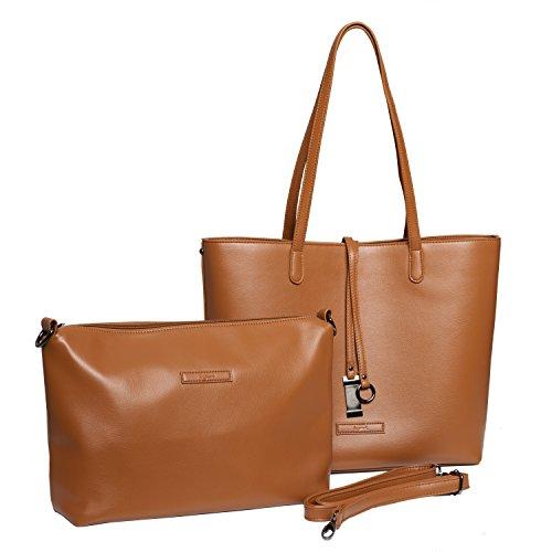 tragwert-borsa-da-donna-shopping-bag-lara-marrone-borsa-tote-a-spalla-shopper-borsetta-pochette-in-p