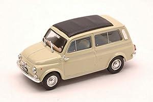Brumm BM0425-01 Fiat 500 Jardinera 1960 Cerrada Marfil 1:43 Modelo