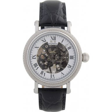 krug-baumen-60112dm-para-hombre-prestige-negro-correa-de-piel-reloj
