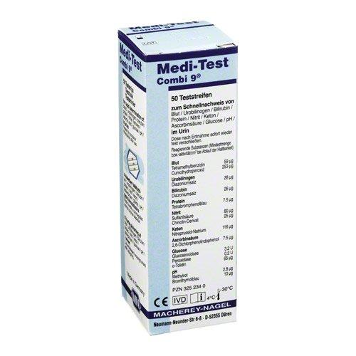 MEDI-TEST Combi 9 Teststreifen 50 St Teststreifen