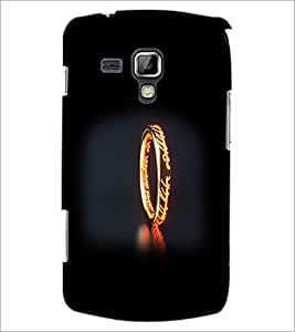 PrintDhaba Ring D-2355 Back Case Cover for SAMSUNG GALAXY S DUOS S7562 (Multi-Coloured)