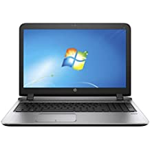 """HP ProBook 450 G3 15.6"""" HD Laptop - Intel Core I5 (6th Gen) I5-6200U Dual-core (2 Core) 2.30 GHz, 4 GB DDR4 SDRAM, 500 GB HDD,Windows 10 Pro 64-bit -Black"""
