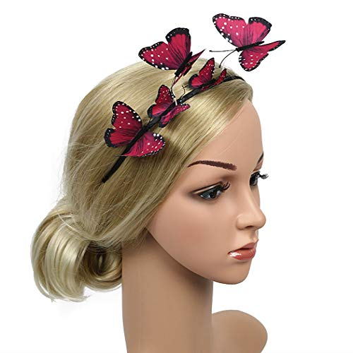 Kostüm Damen Schmetterling - Zoylink Schmetterlings Stirnband Party Stirnband Exquisite Hair Hoop Party Headpiece für Frauen
