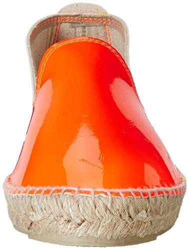 MANEBI Ibiza, Espadrilles femme Orange - Orange (Orange Patent)