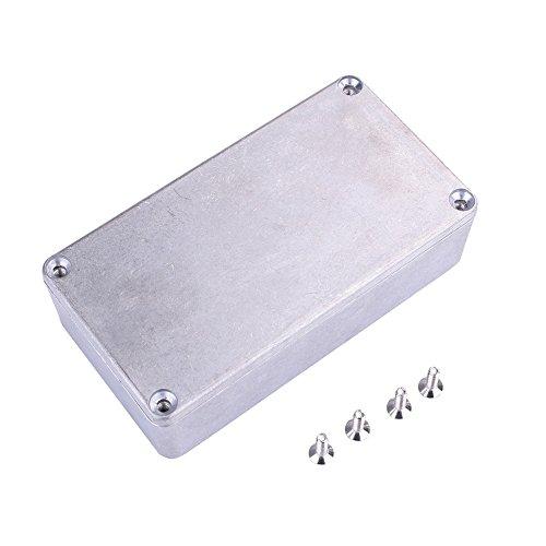 Forfar Gitarreneffektpedal Aluminium Stomp Box Gehege