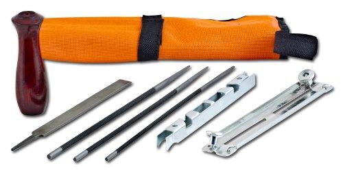 Arnold 1194-X1-0030 - Juego de limas (para afilar sierras de cadena, empaquetado en rollo)