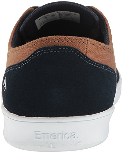 Emerica The Romero Laced, Herren Skateboardschuhe navy/brown/white