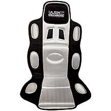 WRC 007333 - funda para asiento tipo deportivo, color negro y plateado