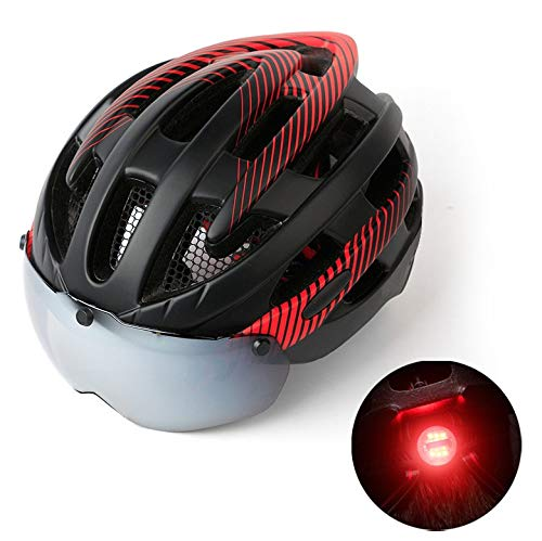bicycleCycle-Bike-Helme CE-zertifiziertSafety Standard Verstellbares Fahrrad mit abnehmbarem Schildschirm Fahrrad-Helme2019 Helment -