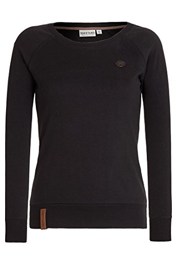 Naketano Female Sweatshirt Krokettenhorst Black, XL