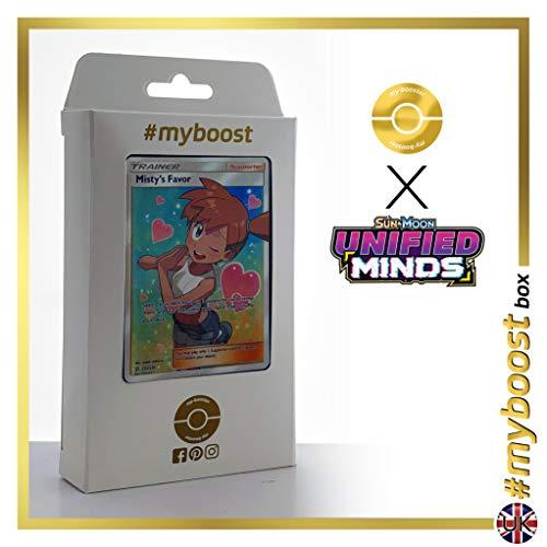 Misty's Favor (Favor de Misty) 235/236 Entrenadore Full Art - #myboost X Sun & Moon 11 Unified Minds - Box de 10 cartas Pokémon Inglesas