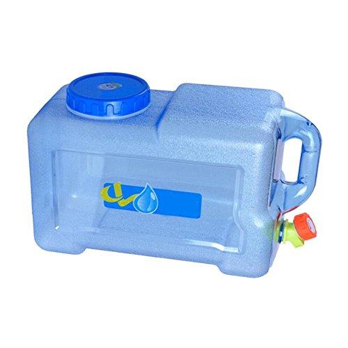 Wasserkanister Auto Tragbar Trinkwasser 12L Wasserbehälter Wassertank mit festmontiertem Ablasshahn/Wasserauslauf für das Trinken im Freien oder zu Hause LEO565TOM