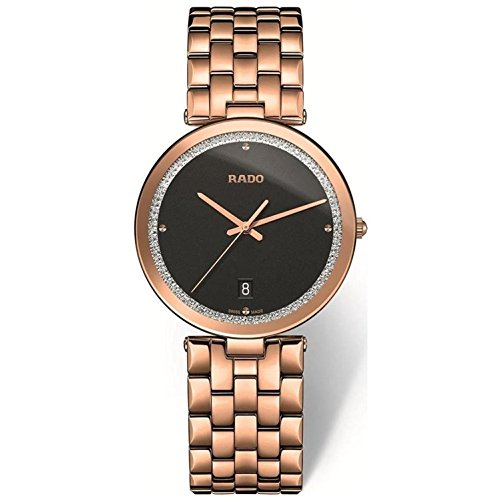 Rado Women's Florence 28mm Rose Gold Plated Bracelet Quartz Watch R48873183