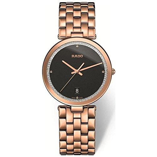 Rado Florence Damen-Armbanduhr 28mm Saphirglas Batterie R48873183 (Batterie Rado-uhr)