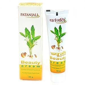 Patanjali Beauty Cream (50g) With Haldi Chandan Face Pack Powder (100g)