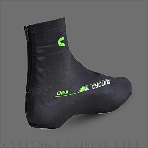 West Bike-Scarpe da ciclismo, leggero e di facile asciugatura, anti-polvere, Copriscarpe nero - nero