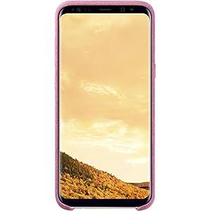 Samsung Original S8 Plus Alcantara Back Phone Case Cover - Pink