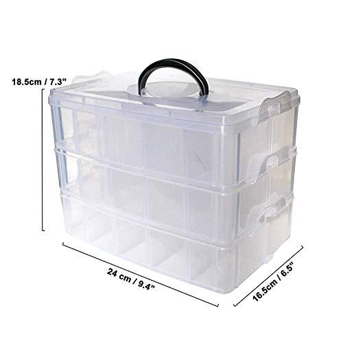 Zoom IMG-1 scatola portaoggetti in plastica a