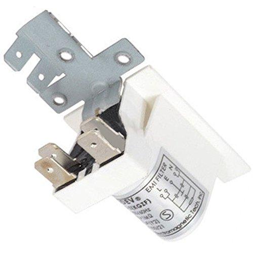 spares2go Interferenzen Filter Schalldämpfer für Klimaanlagen Geschirrspüler - Geschirrspüler Klimaanlage